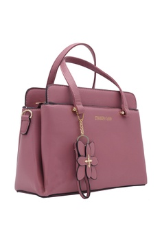 f018e812cd07 28% OFF STRAWBERRY QUEEN Strawberry Queen Archie Handbag (Pink) RM 139.00  NOW RM 99.90 Sizes One Size