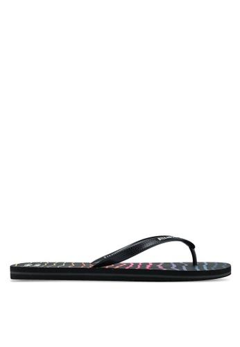 Billabong black Tides Flip Flops CF04ESHD6CDE74GS_1