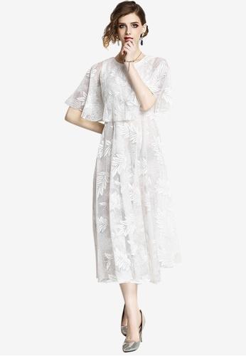 Sunnydaysweety white Lace One Piece Dress DDD77AA23C8974GS_1