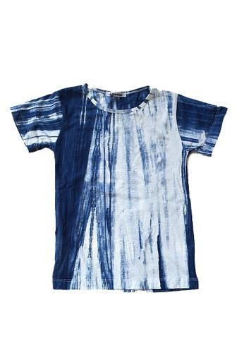 Roses & Rhinos Tye Dye Stripe T-shirt-Unisex 38C3DKA8F09126GS_1
