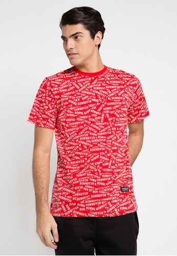 Rown Division red Earst T-Shirt RO885AA0UNAEID_1