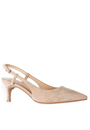 Twenty Eight Shoes beige Slingback Heel 192-30 2CB17SH9A2AFF2GS_1