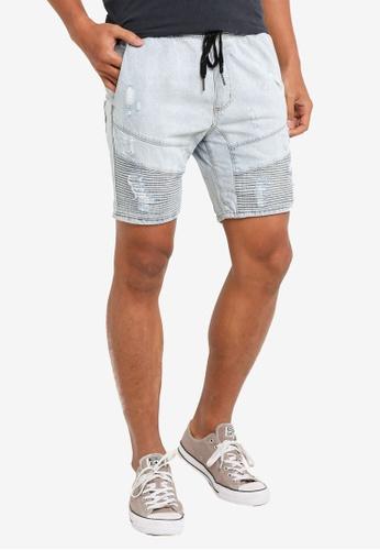 Cotton On 藍色 Customised 丹寧 短褲 D25D6AA4A4598CGS_1