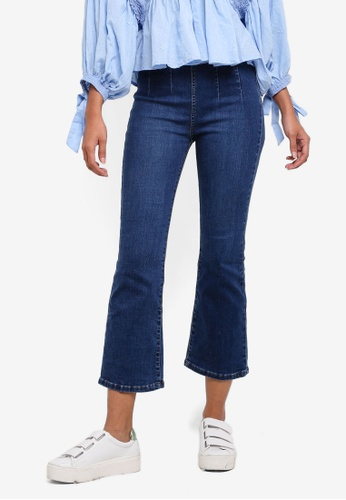 Free People blue Ultra High Crop Boot Jeans D43F9AAA30A871GS_1