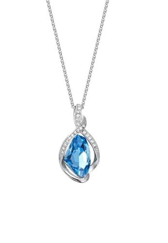 ADORA blue Swarovski Blue Pendent Necklace 76DEFACB60648BGS_1