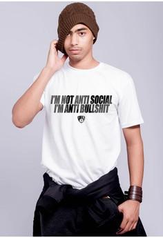 I'm Not Anti Social I'm Anti Bullshit T-shirt