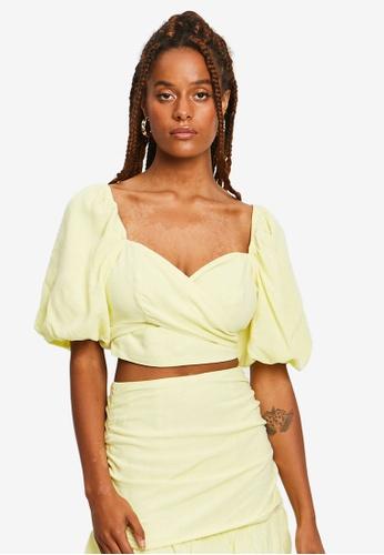 Sável yellow Tamara Blouse 7467DAADC15CE0GS_1
