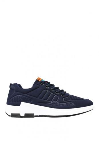 New York Sneakers navy Floyd E23 Men's Rubber Shoes 44A54SH0EDC91CGS_1