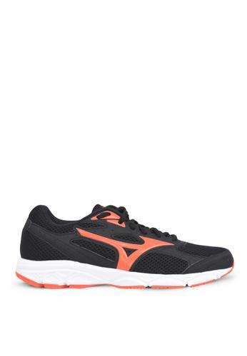 Mizuno black and orange Mizuno Spark 3 Running Shoes BCE70SH8C7E991GS_1
