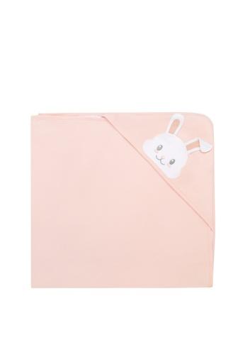 Kingkow pink Rabbit Pattern Cotton Blanket 5B6BDKC5D52FA8GS_1