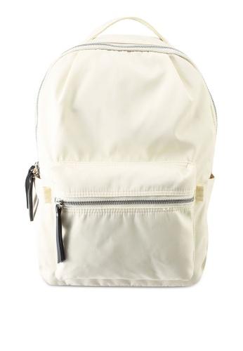 GLOBAL WORK white Casual Backpack 3F326ACE51E20CGS_1