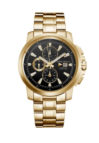 Aries Gold gold Aries Gold Inspire Contender Gold Watch 7AD2AAC8BE42F2GS_1