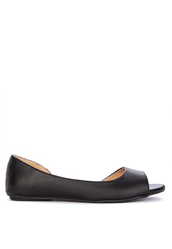 7695b76295af Shop Alberto Flat Peeptoe Sandals Online on ZALORA Philippines