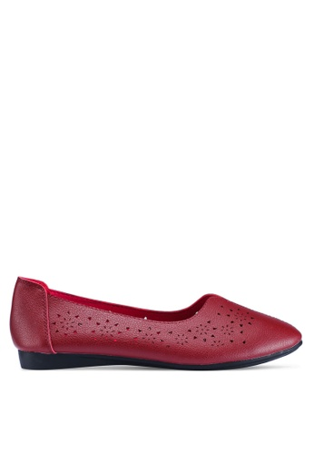 Louis Cuppers 紅色 Louis Cuppers Ballerina & Flats 4B75FSH9A51BEAGS_1