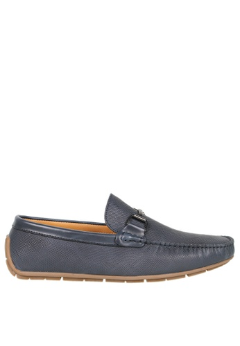 Tomaz blue Tomaz C334 Front Buckled Loafers (Navy) CB322SHB36FDFDGS_1