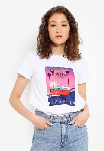 39f71348b3c5 Buy ESPRIT Short Sleeve T-Shirt Online on ZALORA Singapore