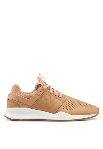 New Balance 橘色 247 V2 Lifestyle Shoes 07F73SHF8ABEFCGS_1
