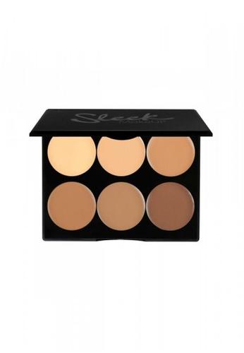 Sleek beige Sleek MakeUP Cream Contour - Medium 096 SL667BE0RO41MY_1