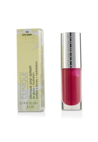 Clinique CLINIQUE - Pop Splash Lip Gloss + Hydration - # 13 Juicy Apple 4.3ml/0.14oz 5AA6CBE64773D2GS_1