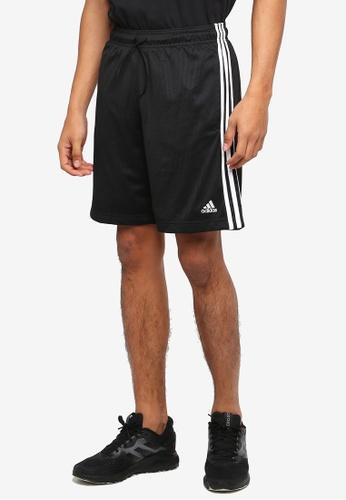 adidas 黑色 adidas ess 運動短褲 A5D11AA4A3B9E1GS_1