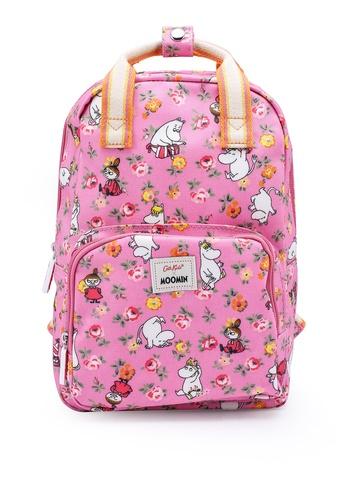 Cath Kidston pink Moomins Linen Sprig Kids Medium Backpack DCFFDKC7A0A1F7GS_1
