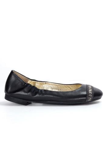 Shu Talk 黑色 舒服軟羊皮平底鞋 SH544SH09T98TW_1