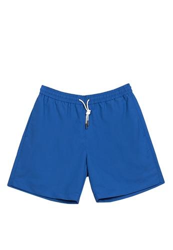 FILA blue Korea Collection Unisex Shorts 9F65CAADC2DA57GS_1