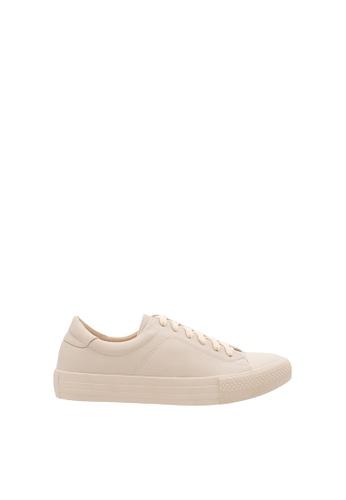 SEMBONIA beige Women Synthetic Leather Sneaker 4D5EFSH6EBC195GS_1