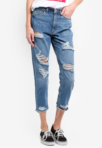 ONLY blue ONLY ONE Denim Jeans 129FEAAE21ACB1GS_1