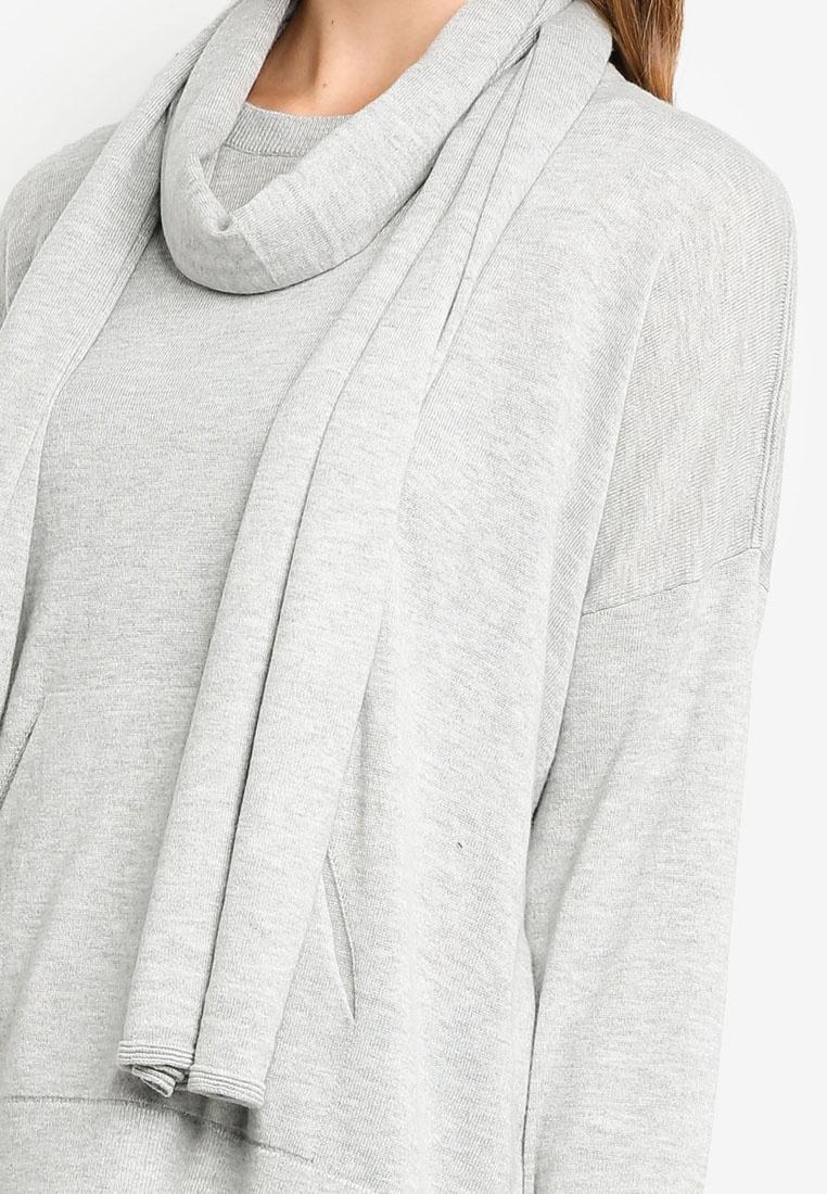 Sleeve Long Long Grey Cardigan ESPRIT Cardigan Sleeve ESPRIT w6qpFFR