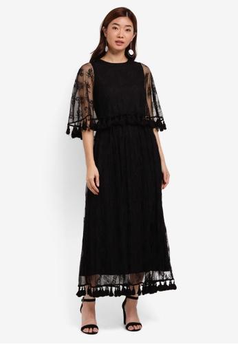 ZALORA black Studio Lace Maxi Dress BF16AAA4C322D1GS_1