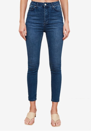 Trendyol blue Normal Waist Skinny Jeans 1A803AAC8E6D6FGS_1