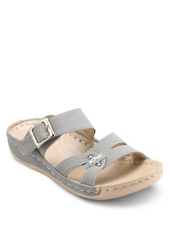 扣環多帶涼鞋, 女鞋, esprit 香港 outlet涼鞋
