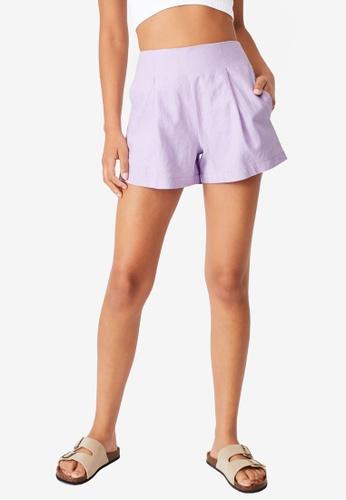Cotton On purple Paradise Shorts 3ADCAAA3D83B31GS_1