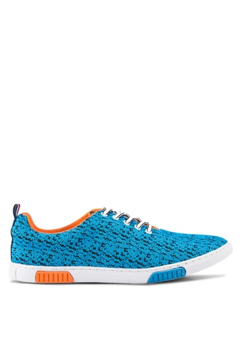 Louis Cuppers blue Casual Sneakers LO977SH83RDCMY_1