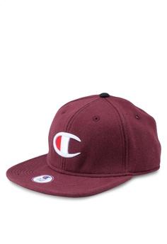 3b5a367bf6d86 Champion red US Range Reverse Weave Baseball Hat - Big