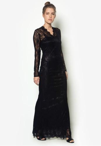 長袖蕾絲長洋裝, 服飾esprit 兼職, 洋裝