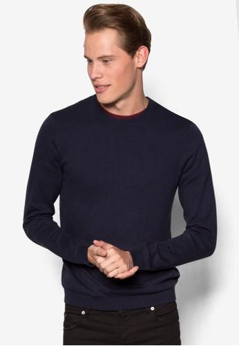 圓領棉質長袖衫、 服飾、 服飾Topman圓領棉質長袖衫最新折價