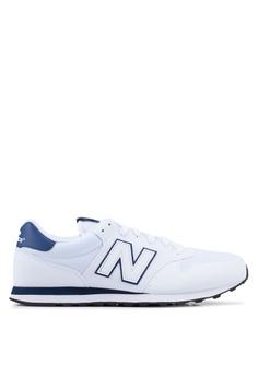 9ca403cb0f8 New Balance white 500 Lifestyle Shoes 4D9B0SH7CE7F85GS 1