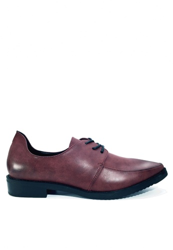 Twenty Eight Shoes purple Stylish Back Counter Derby Shoes VL76619 2832ESH79143BBGS_1