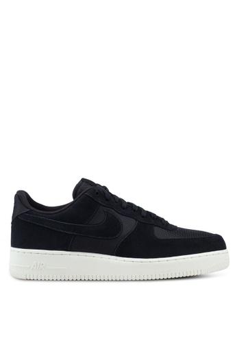 Nike black Nike Air Force 1 '07 1 Shoes AF797SHFDD9E39GS_1
