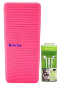Bavin PC206 15000mAh Powerbank with FREE Motor Type Headset