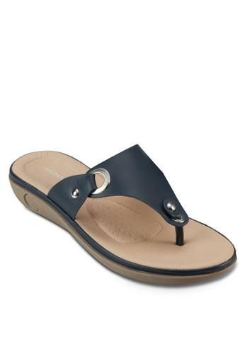 BOLINI 金屬孔鉚釘涼鞋, 女鞋, esprit 尖沙咀鞋