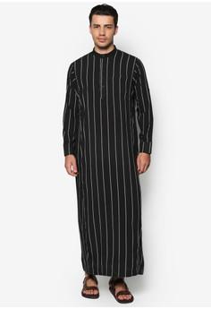 Striped Jubah