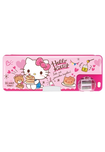 Hello Kitty pink Hello Kitty Pancake Magnetic Pencil Case 074C9KCBF423FAGS_1
