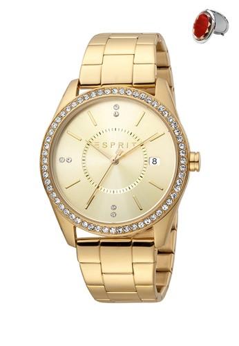 Esprit Watches gold Jam Tangan Esprit Jam Tangan Wanita ES1L196M0075 Original 7DFE5AC903556CGS_1