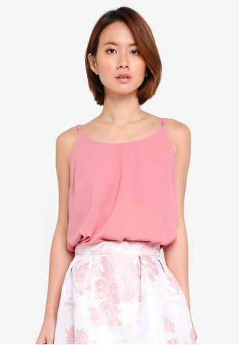 Dorothy Perkins pink Pink Strappy Camisole 3850AAA9A83CB5GS_1