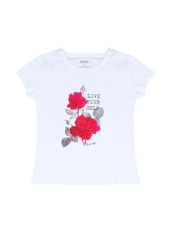 FOX Kids & Baby white Love Yourself Tee 22406KA1FE3A63GS_1