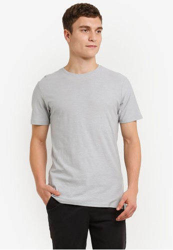 Factorie grey The Legacy Crew T-Shirt FA880AA0RY92MY_1
