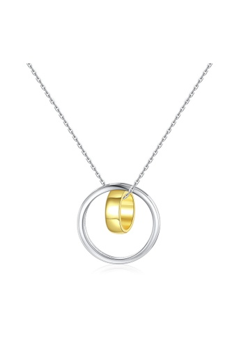 SUNRAIS silver Premium Silver S925 Silver Round Necklace D14C7AC200265BGS_1